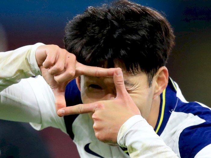 FOTO: Liga Inggris, Son Heung-Min Bawa Tottenham Menang Atas Burnley 1-0