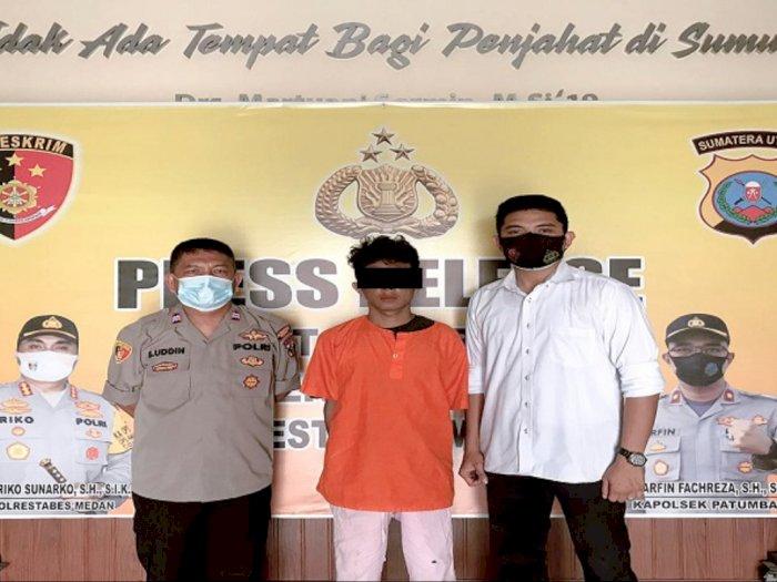 Setelah Enam Bulan, Pencuri Becak di Jalan Menteng Medan Tertangkap