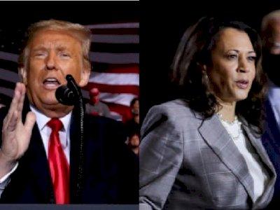 Donald Trump Sebut Kamala Harris Tak Pantas Menjadi Presiden Wanita Pertama di AS
