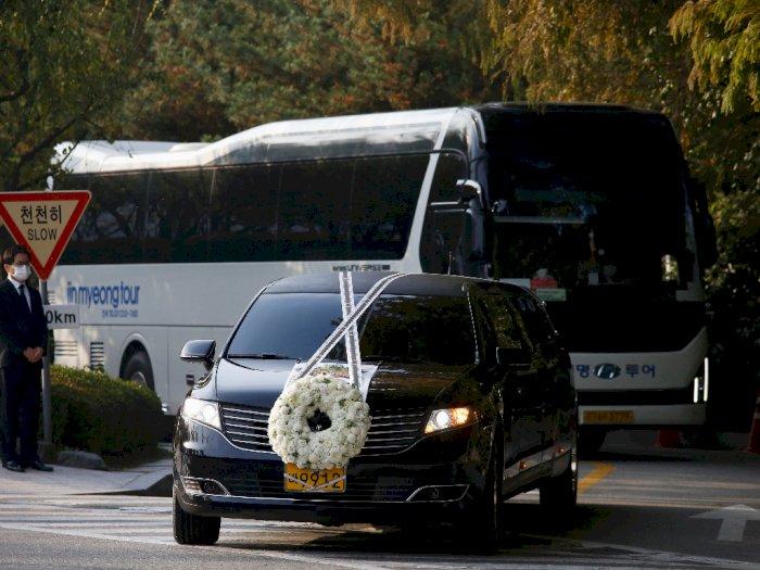 FOTO: Pemakaman Pemimpin Grup Samsung Lee Kun-hee