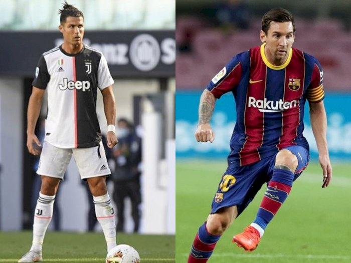 Masih Positif COVID-19, Ronaldo Batal Reuni dengan Messi di Liga Champions Besok