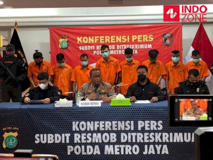 Polisi Bekuk 4 Kelompok Pelaku Curanmor yang Kerap Beraksi di Jadetabek