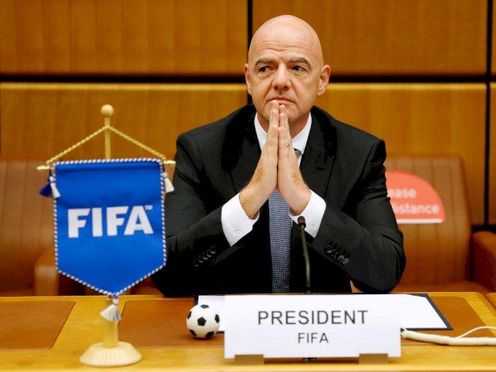 Presiden FIFA, Gianni Infantino Dinyatakan Positif Covid-19
