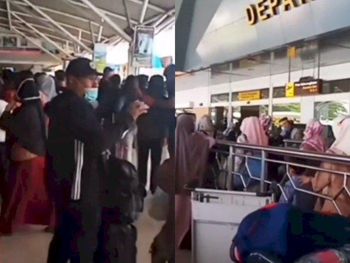 Libur Panjang, Bandara Sultan Hasanuddin Terpantau Padat