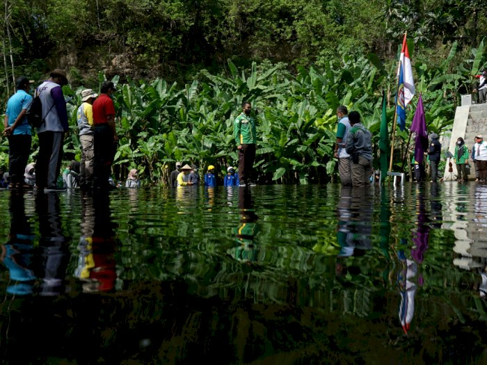 FOTO: Peringatan Sumpah Pemuda Di Yogyakarta dan Bogor