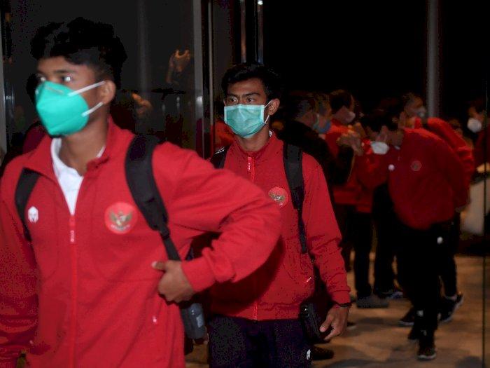 FOTO: Timnas U-19 Kembali Ke Tanah Air