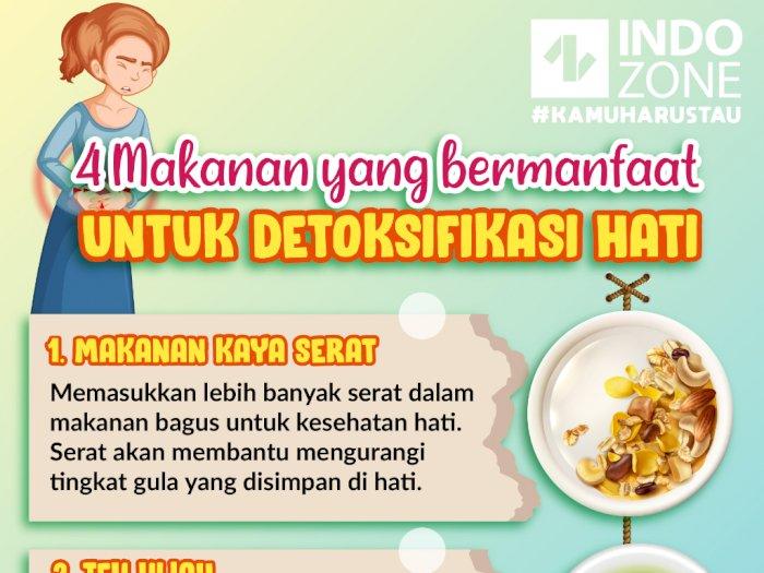 4 Makanan Yang Bermanfaat Untuk Detoksifikasi Hati