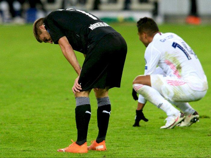 FOTO: Liga Champions, Real Madrid Ditahan Imbang 2-2 Oleh Borussia Monchengladbach