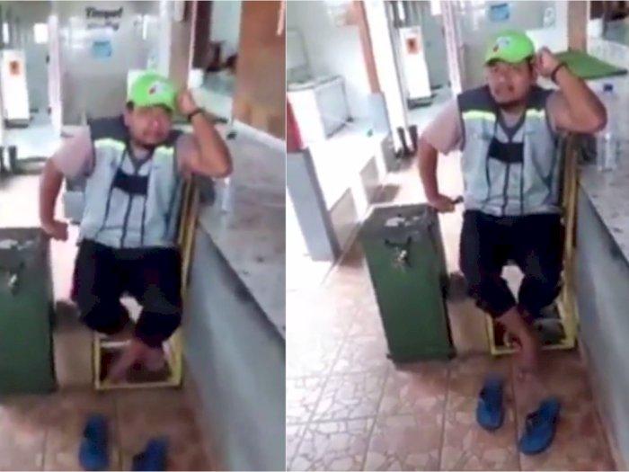 Pria Penjaga Toilet SPBU Diduga Colek Pantat Wanita, Alasannya Gemes Sama Anaknya