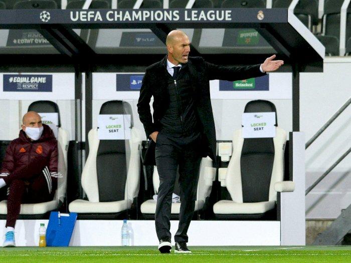 Madrid 2-2 Gladbcah, Zidane: Ini akan Jadi Tahun yang Sulit Tapi Saya Bangga dengan Tim
