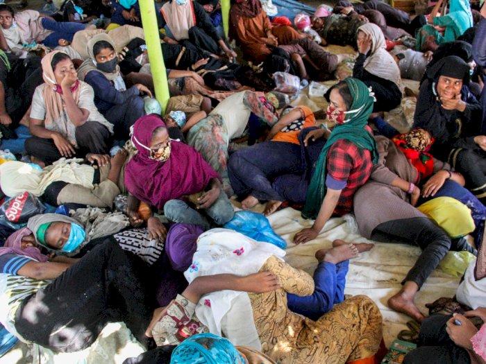 Ternyata Pengungsi Rohingya di Aceh Bagian dari Penyelundupan Imigran, Dalangnya di Medan
