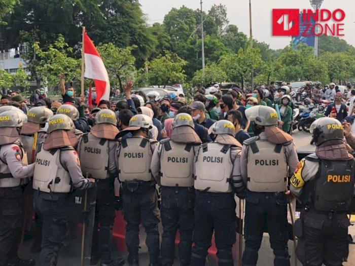 Ada Demo di Jakarta, Sentra Perekonomian Dijaga Ketat Polisi