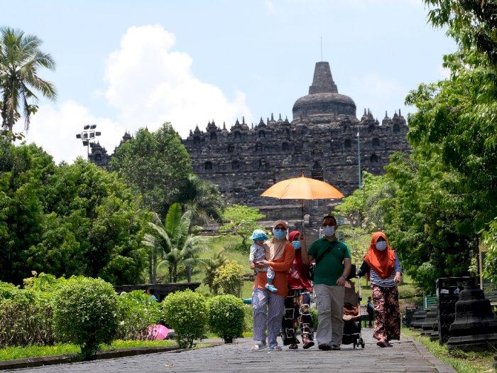 FOTO: Berlibur ke Borobudur