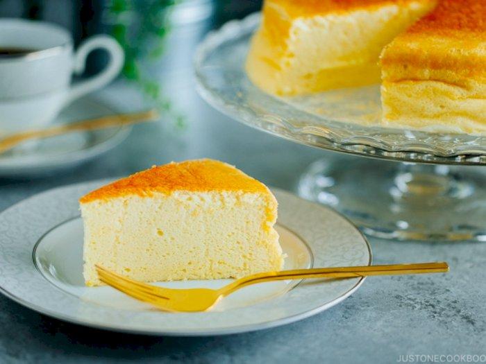 Tanpa Oven, Ini Resep Cheese Cake ala Jepang