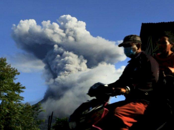 Gunung Sinabung Luncurkan Awan Panas, 4 Kecamatan di Karo Bakal Terdampak