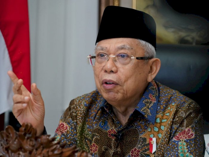 Ma'ruf Amin Minta Muslimat NU Dukung Program Pemerintah Atasi Pandemi Covid-19