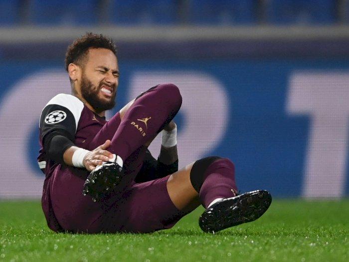 Cedera, Neymar Cuma Main 26 Menit Saat PSG Hadapi Istanbul Basaksehir di Liga Champions