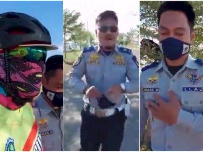 2 Petugas Dishub Tak Pakai Masker, Kutip Ucapan Menkes: Cuma Orang Sakit yang Pakai Masker