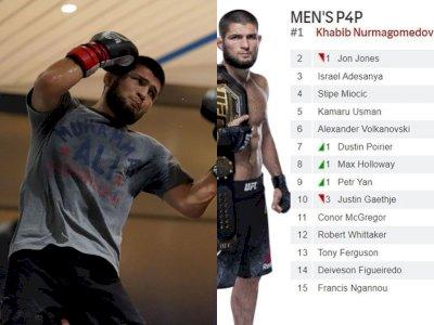 Jadi Petarung Terbaik UFC, Khabib Nurmagomedov Geser Jon Jones