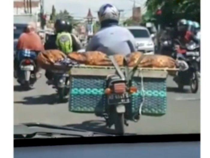 Viral Seorang Anak Bawa Jenazah Ibunya Diikat di Sepeda Motor, Ternyata Begini Kejadiannya