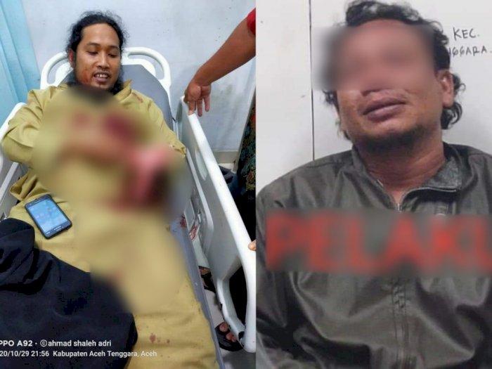 Sosok Penikam Ustaz Zaid saat Ceramah Maulid, Masuk dari Jendela dan Berniat Tusuk Leher