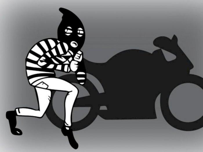 Lupa Cabut Kunci Motor, Pria di Langkat Kehilangan Motor dan Lapor Polisi