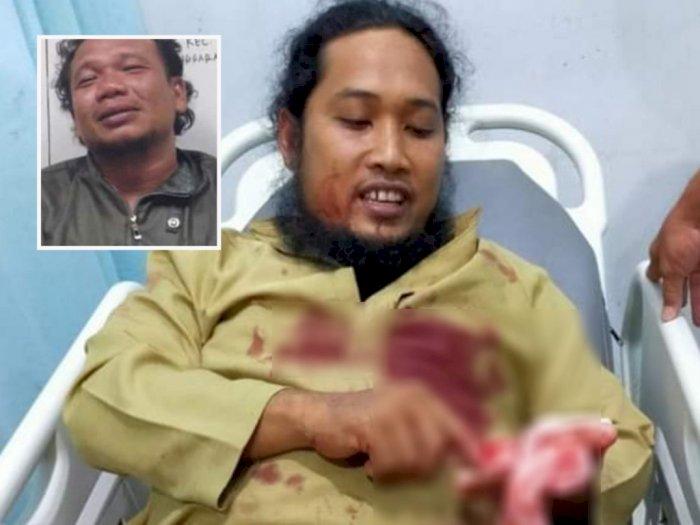 Astaga, Tokoh Agama di Aceh Tenggara Bersimbah Darah Ditikam Saat Isi Ceramah Maulid Nabi