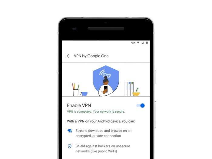 Google Hadirkan Layanan VPN Sendiri untuk Para Pelanggan Google One