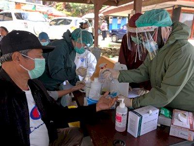 FOTO: Rapid Test di Kawasan Wisata Dieng