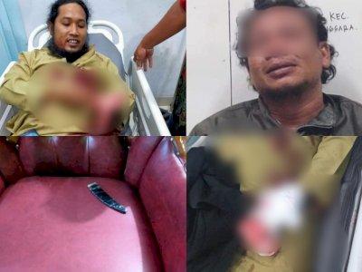 Ngeri! Detik-detik Ustaz Zaid Ditikam saat Ceramah Maulid, Pelaku Diduga Mantan Polisi