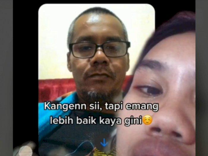Orangtua Bercerai, Anak Perempuan Ini Diam-diam Chat Ayahnya, Bikin Sedih
