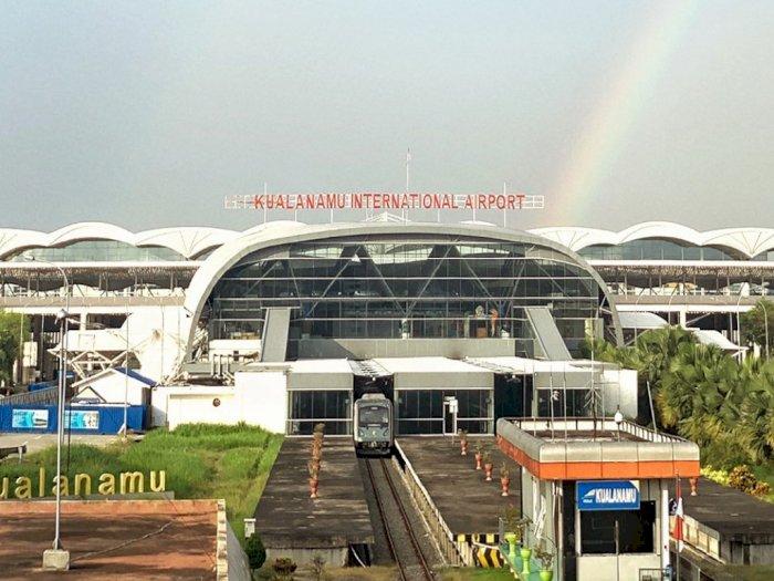 Simpan Paket Berisi Sabu, Sopir Bus Maskapai Penerbangan Diamankan di Bandara Kualanamu