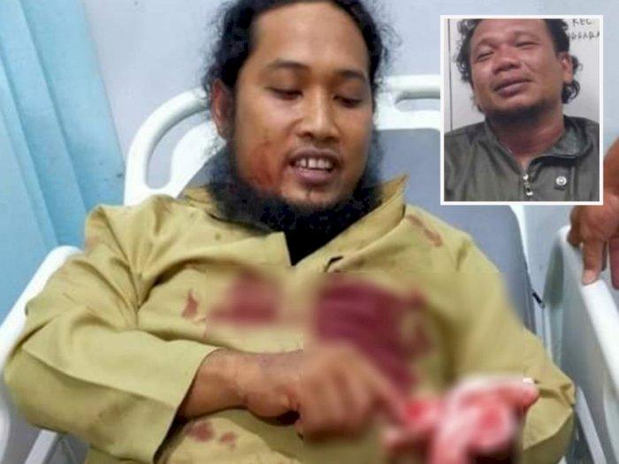 Pelaku Penikaman Ustadz di Aceh Ditangkap Polisi, Diserang Saat Isi Ceramah Maulid Nabi
