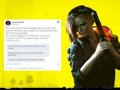 Karyawan CD Projekt Red Dapat 'Ancaman Kematian' dari Fans Cyberpunk 2077!