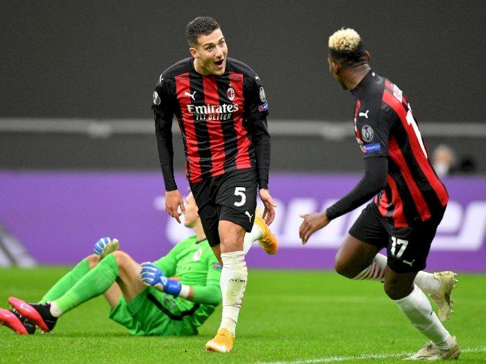 Walau Ibrahimovic Gagal Eksekusi Penalti, AC Milan Tetap Menang Lawan Sparta Prague