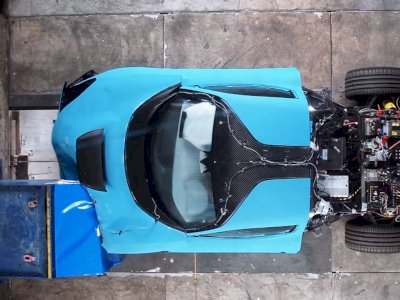 Melihat Uji Coba Ketahanan dari Mobil Rimac C_Two 2021 Terbaru!