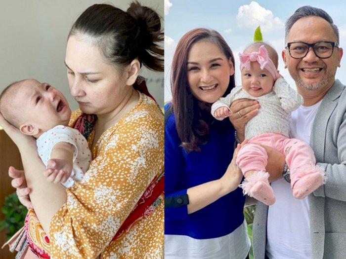 Punya Anak Lagi di Usia Hampir 40 Tahun, Mona Ratuliu Beri Tips Tenangkan Bayi saat Rewel