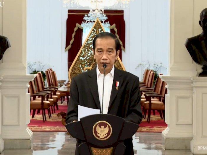 Presiden Jokowi Tegas Kecam Pernyataan Presiden Prancis yang Dinilai Hina Islam