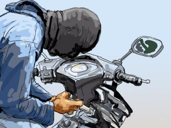 Curi Motor, Pemuda Asal Srigunting Babak Belur Dihajar Warga