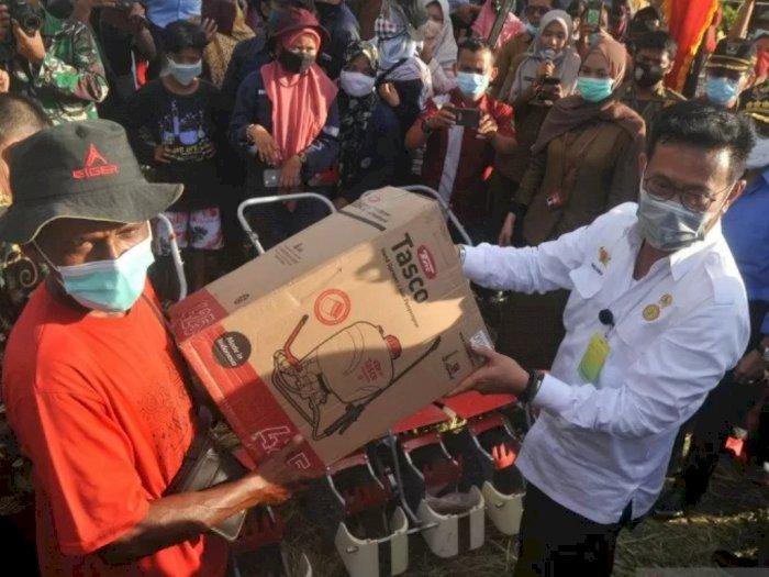Mentan Sebut Petani Sebagai Pahlawan Pangan di Tengah Pandemi COVID-19