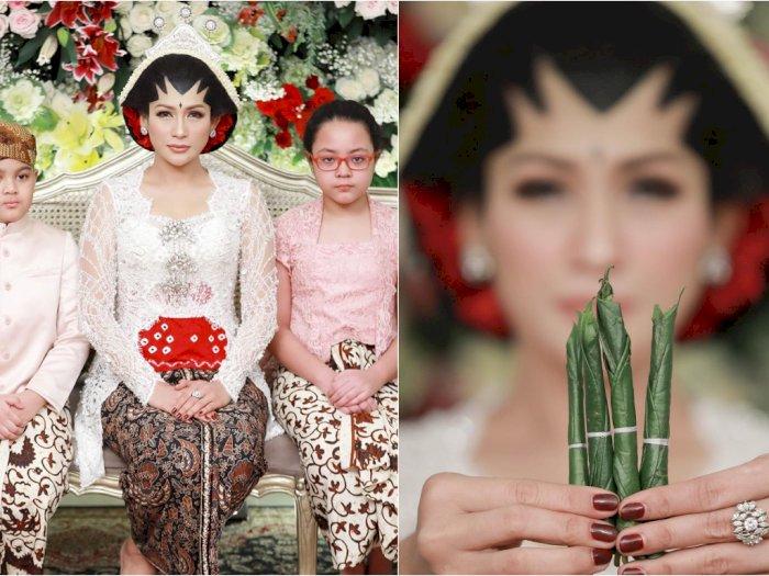Tata Janeeta Akhirnya Unggah Foto Pernikahan, Potret Sang Suami Masih Dirahasiakan