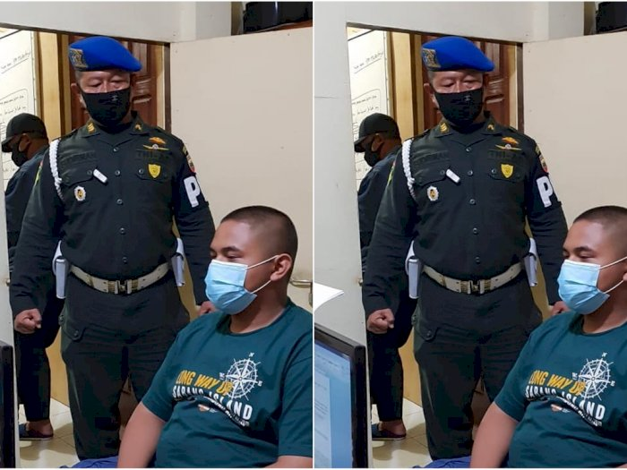 Kepal Tinju Polisi Militer Lihat Pemoge Harley Davidson Tersangka Aniaya 2 Anggota TNI