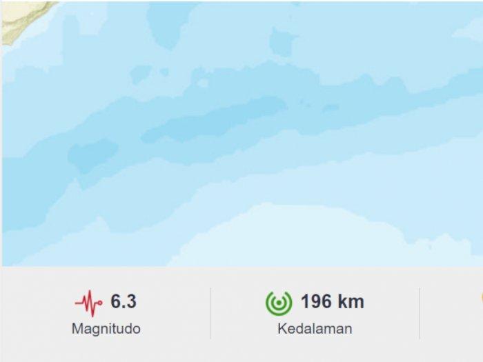 Gempa 6,3 M Guncang Maluku