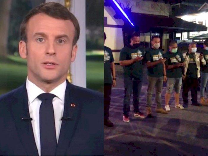 POPULER: Presiden Prancis Ngetweet Pakai Bahasa Arab, Pengendara Harley Davidson Pucat