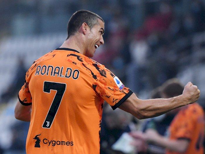 Kembali Perkuat Juventus dan Cetak 2 Gol, Ronaldo Enggan Bahas Virus Corona Lagi