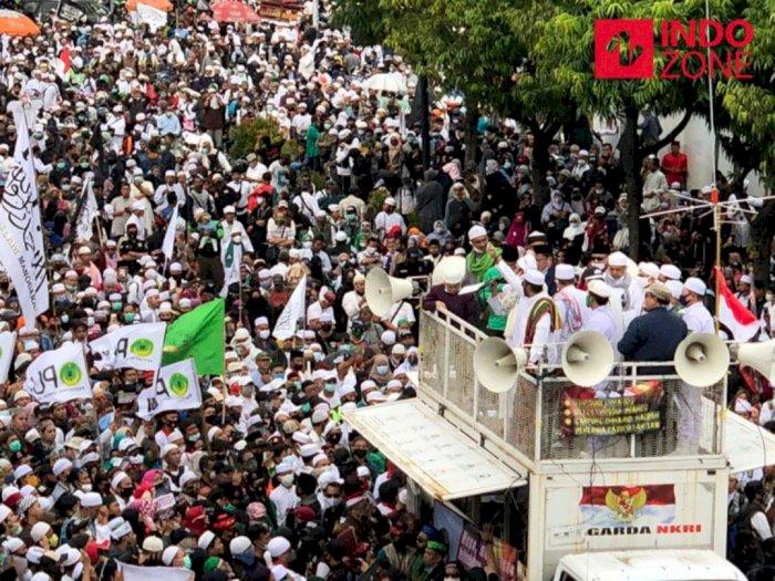 Demo PA 212 di Jakarta, Bahas Kabar Kepulangan Habib Rizieq