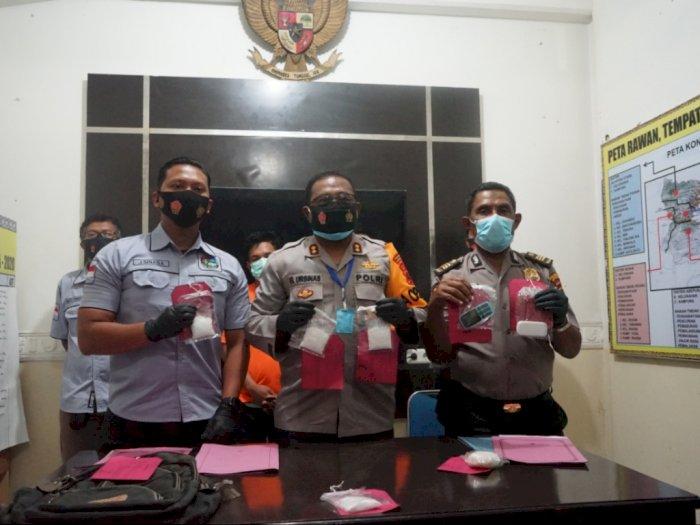 Selundupkan Sabu ke Roti, 2 Kurir Lintas Provinsi Ditangkap di Papua