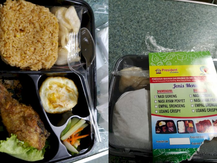 Viral Netizen Keluhkan Harga Nasi Goreng di Kereta: Masa Iya Segini Harganya Rp45 Ribu?