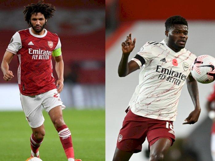 Mohamed Elneny Dianggap Samai Kualitas Thomas Partey di Lini Tengah Arsenal