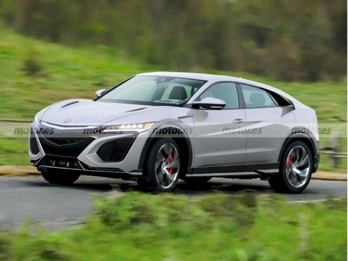 Seperti Ini Tampilan Mobil Honda NSX Ketika Dihadirkan Sebagai SUV!